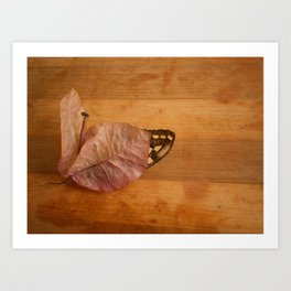 found treasury Art Print