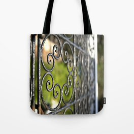 St Tropez Estate Gate Tote Bag