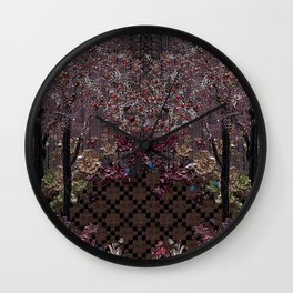 Folklore Forest Wall Clock