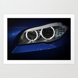 BMW M5 Art Print