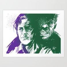 Always Angry Art Print