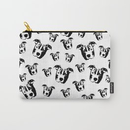GIFTS FOR THE PIT BULL DOG LOVER FROM MONOFACES  IN 2021 Carry-All Pouch