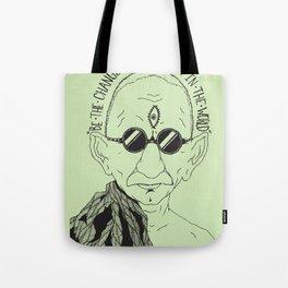 Weekend at Gandhi's Tote Bag