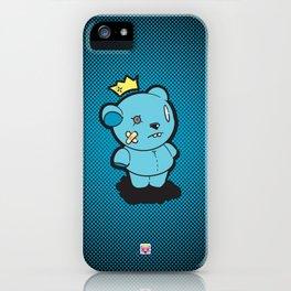 Blue Dead Bear iPhone Case
