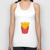 fries Tank Tops featuring Friend Fries by Wai Theng