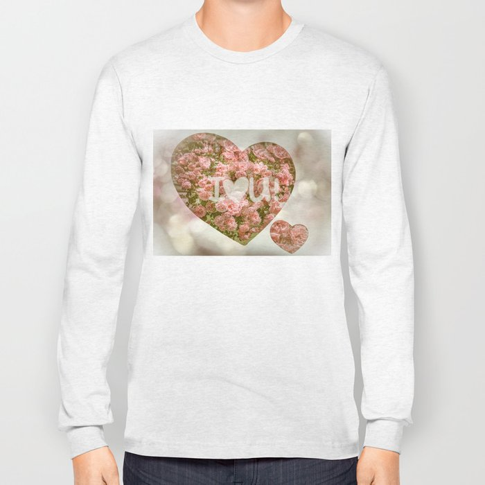 VALENTINE'S DAY ROSES Long Sleeve T-shirt