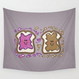 PBJ Sandwich Wall Tapestry