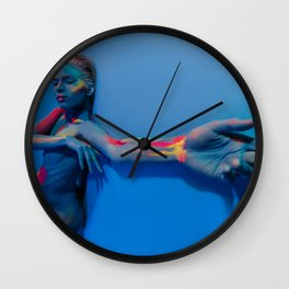 Your Body is Poetry Wall Clock