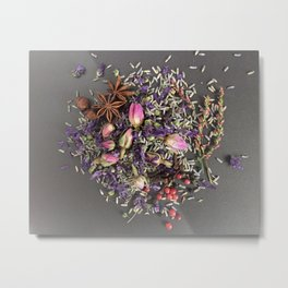 lavender, rose and spices Metal Print