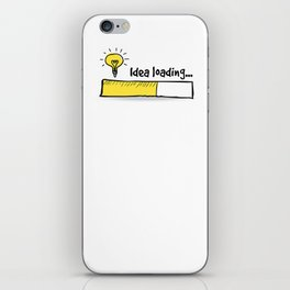 Idea Loading iPhone Skin