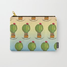 Ms Neko in cactus hot baloon Carry-All Pouch