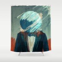 law Shower Curtains featuring Law Abiding Citizen by Jason Linn