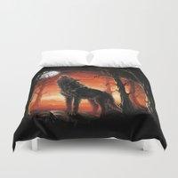 werewolf Duvet Covers featuring Werewolf by Antracit