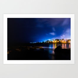 Coogee Lights Art Print