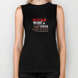 Red Wine and Dark Chocolate Biker Tank