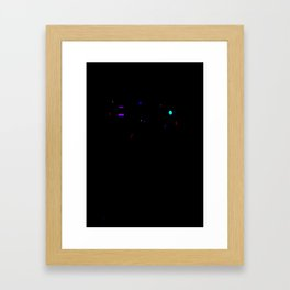 Microphone Framed Art Print