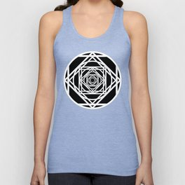 Diamonds in the Rounds Version 2 Unisex Tank Top