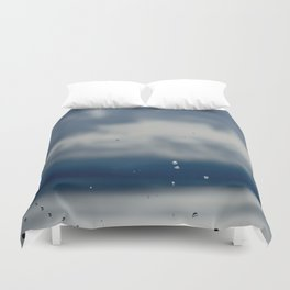 The Sky Resting on Water Duvet Cover