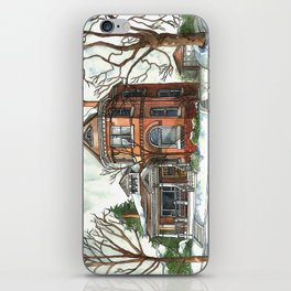 Victorian House in The Avenues iPhone Skin