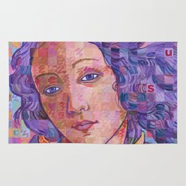 Variations On Botticelli's Venus – No. 2 Rug