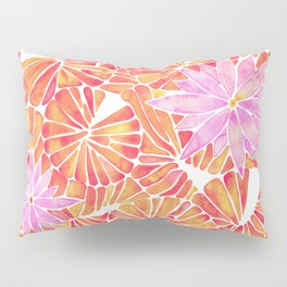Water Lilies – Melon Palette Pillow Sham