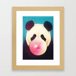 Panda Pop Framed Art Print