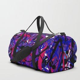 unreadable Duffle Bag
