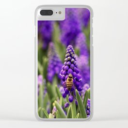 PHOTOGRAPHY / MUSCARI & BEE 01 Clear iPhone Case