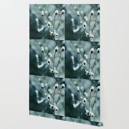Blue frozen plants Wallpaper