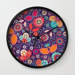 Shabby flowers #29 Wall Clock