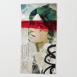 Saigon Sally Beach Towel