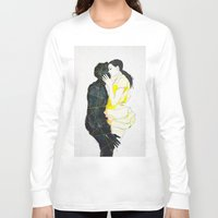 kiss Long Sleeve T-shirts featuring KISS by SEVENTRAPS