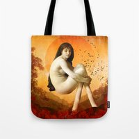fire emblem awakening Tote Bags featuring Awakening by Diogo Verissimo