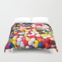 sprinkles Duvet Covers featuring sprinkles by NatalieBoBatalie