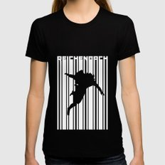 SHERLOCK: REICHENBACH Black LARGE Womens Fitted Tee