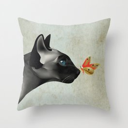 Clues For You Throw Pillow