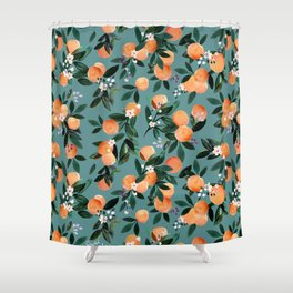 Oranges Shower Curtains