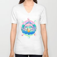 pastel goth V-neck T-shirts featuring follo 4 more ~*pastel goth*~ by Ceebs