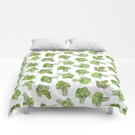 Broccoli - Scattered Comforters