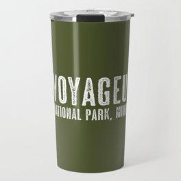 Deer: Voyageurs, Minnesota Travel Mug