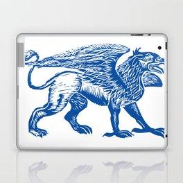 Gryphon-Blue Laptop & iPad Skin