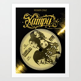 Xampu by Roger Cruz Art Print