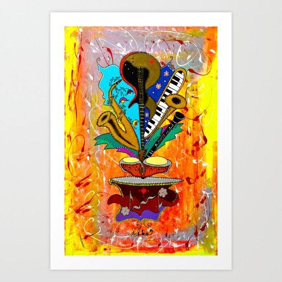 Jazz Me Up Art Print