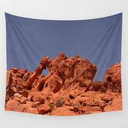 Elephant Rock, Valley of Fire Wall Tapestry