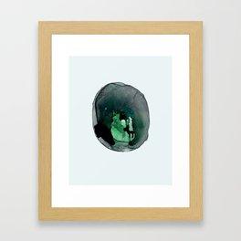 Cellular Damage Framed Art Print