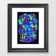 Knee-Jerk Framed Art Print