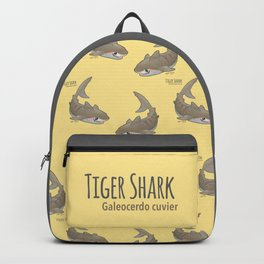 Tiger Shark (Galeocerdo cuvier) Backpack