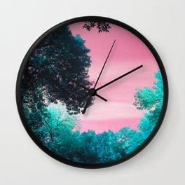 Vivid scenery  Wall Clock