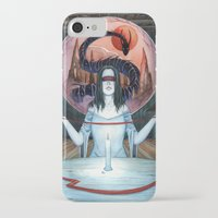 third eye iPhone & iPod Cases featuring Third Eye by Michael Brack