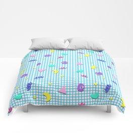 Confetti Grid Comforters